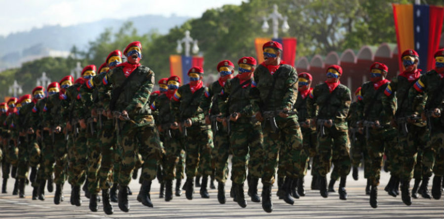 The army forces are inviting civilians between 18 and 60 to join the reserve units to defend the nation from foreign threats. Image credit: Caraotadigital / Panampost