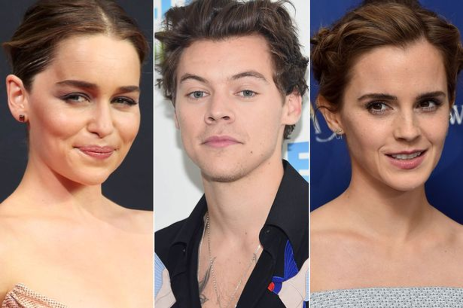 Emilia Clarke, Harry Styles and Emma Watson were among the victims of the attack. Image Credit: Mirror.co.uk