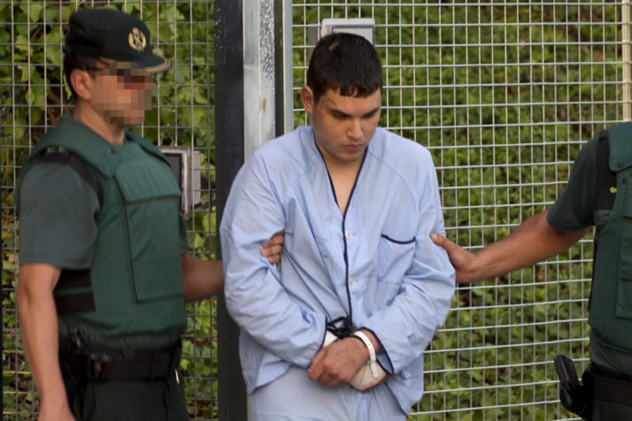 Mohamed Houli Chemlal, one of the suspects of planning the attack on the cathedral. Image Credit AFP / Getty Images
