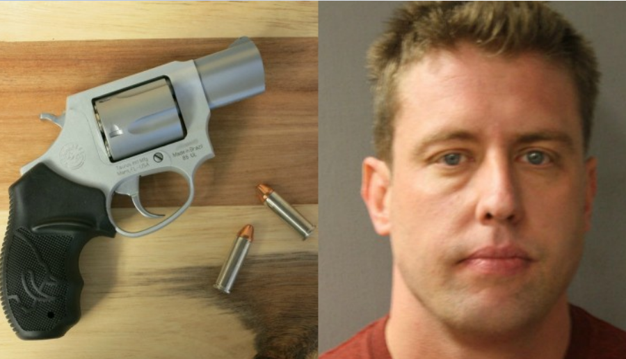 Image Credit: James Case/Harris County Sheriff's Office Jason Stockley and the .38 Taurus revolver he allegedly planted.
