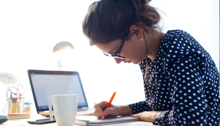 Writing about feelings may help manage stressful tasks