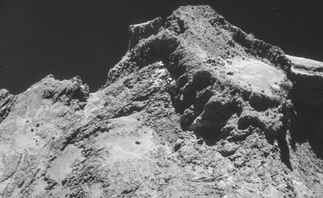 Philae comet lander first image taken from the surface of a comet (Via AP)