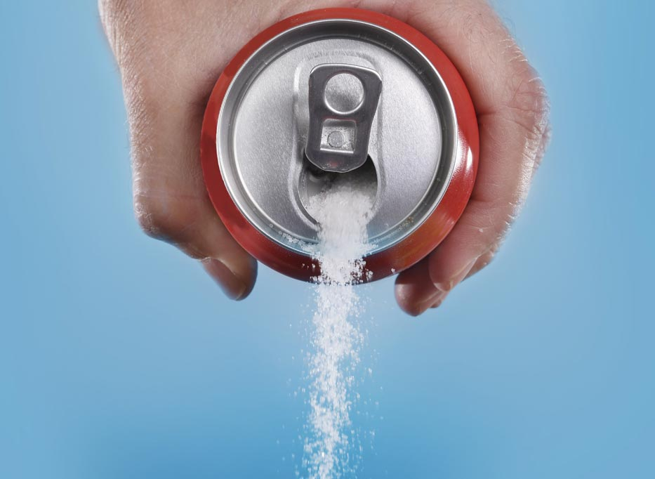 Drinking high sugary beverages may cause Type 2 Diabetes