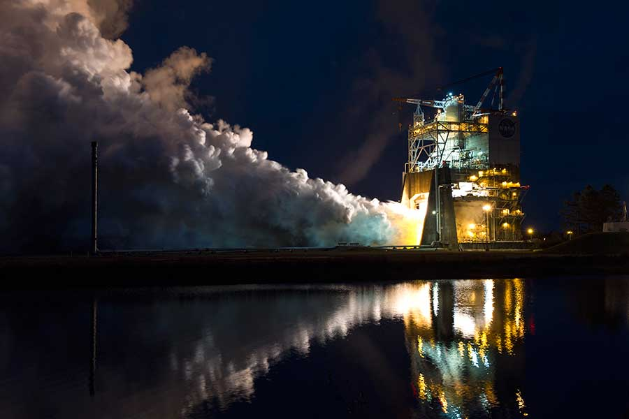 The RS-25 engine is old but is expected to go to Mars