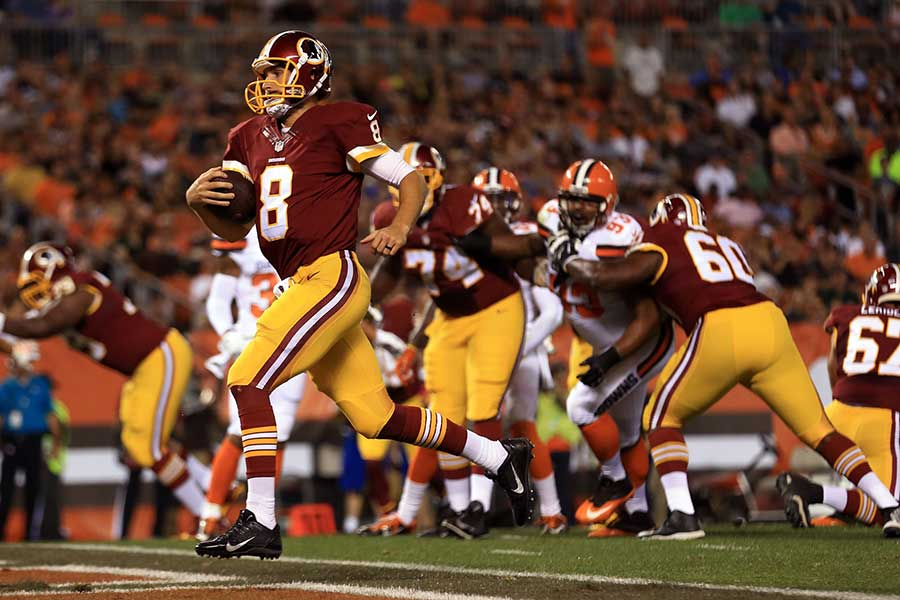 The Redskins and Browns got together for an entertaining preseason game on August 13th that was won by Washington 20 to 17. Photo:CSN