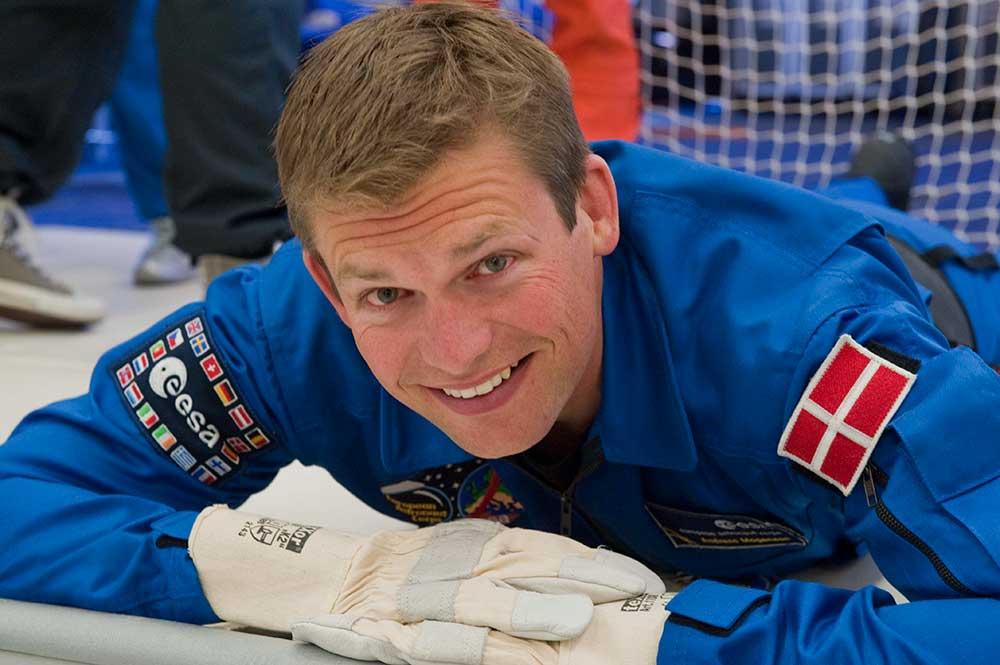 Andreas Mogensen. Photo: ESA