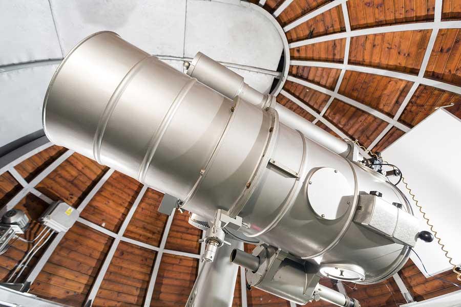 bigstock-Modern-Astronomy-Telescope-In--84408596