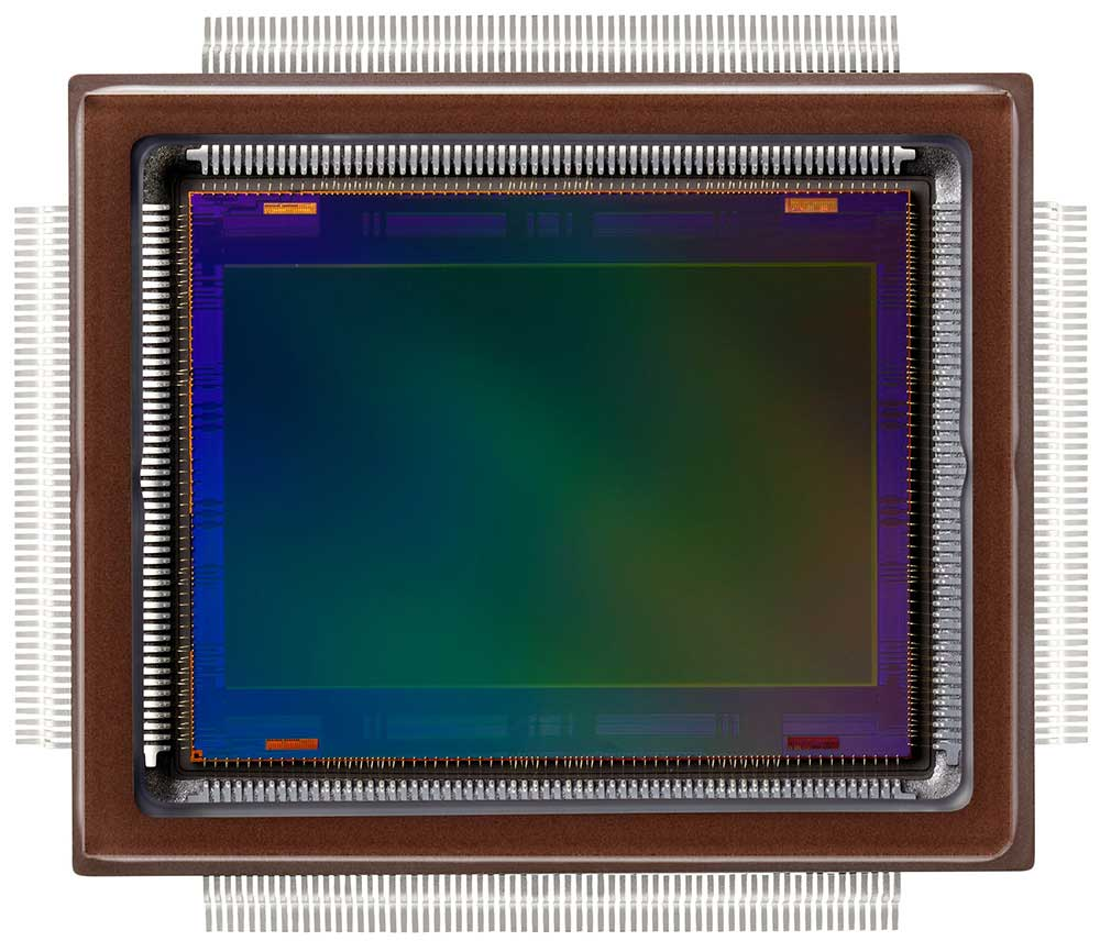 The Canon-developed approximately 250-megapixel CMOS sensor. Credit: ArsTechnica