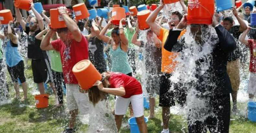 The ice bucket challenge consisted of a person being soaked in ice water for the cause, to then nominate three other friends to perform the challenge. The nominees only had 24 hours to perform their icy challenge and record it. Image Credit: Free Thought Project