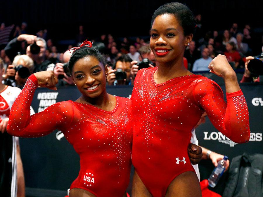 The U S Women Gymnastics Team For Rio 2016 Packs A Punch