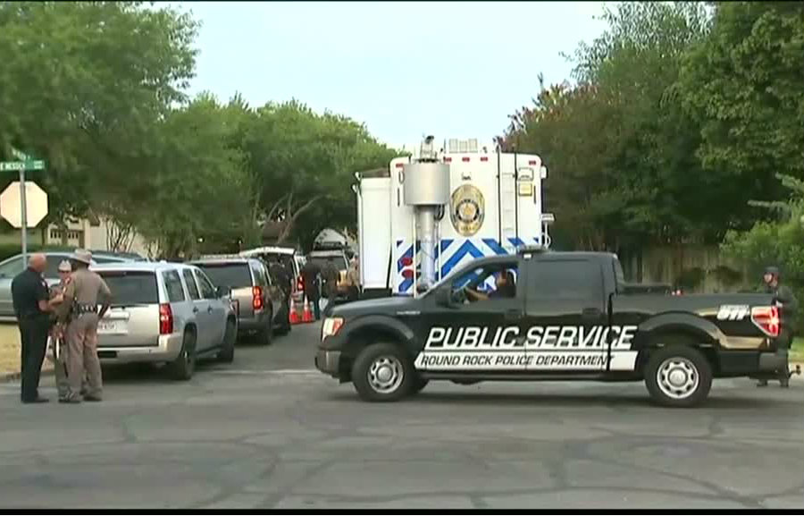 The shooting occurred at Oak Meadow Drive, at Cimarron neighborhood, which is 15 minutes away from Austin. Image Credit: NY Daily News