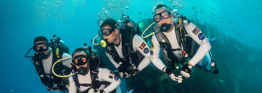 During the underwater mission, the NEEMO crew, and 2 professional habitat technicians, will live at the Florida International University's Aquarius Reef Base undersea research habitat, which is located 6.2 miles off the coast of Key Largo, Florida. Image Credit: NASA