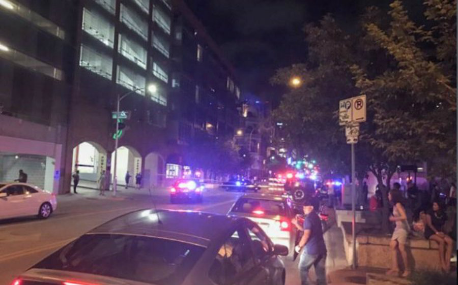 Both Austin shootings left a total of 1 person dead and five injured others. The shooting is the latest of a deadly streak of gun battles taken in the streets of many cities around the United States in the last few months. Image Credit: The Telegraph