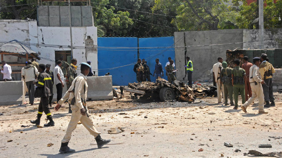 The Somali capital Mogadishu has been the focal point for terrorist attacks credited to Al-Shabaab for over a year now. Image Credit: Daily nigeria News