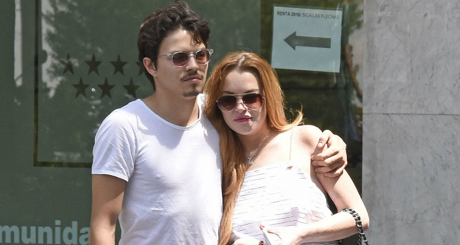 Although there are rumors saying that Lindsay Lohan is pregnant with her fiancé Egor Tarabasov, the actress has been seen relaxing on a luxury yacht, fishing, drinking beer and smoking. Photo credit: Just Jared