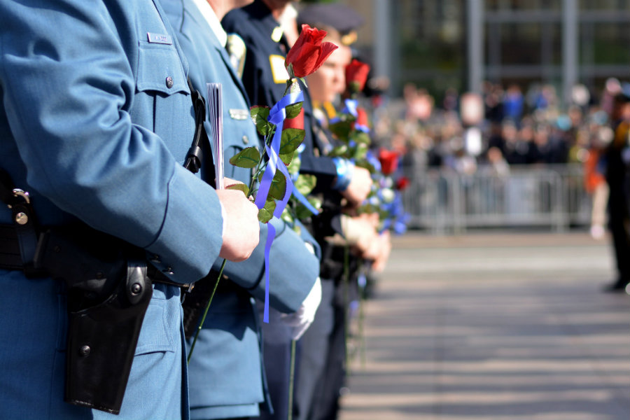 The National Law Enforcement Officers Memorial Fund released a report that, for July 20, 2016, shows 67 deaths, where 32 were related to shootings and 24 resulted from traffic-related incidents. Photo credit: Tactical 360