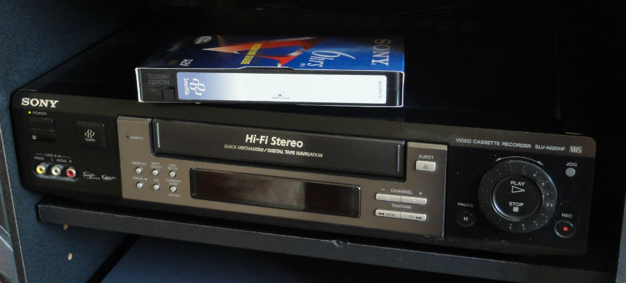 The last company that fabricated VCRs has decided to stop and finally signing an end to the video cassette recorder, after 60 years in use. Photo credit: Wikimedia Commons