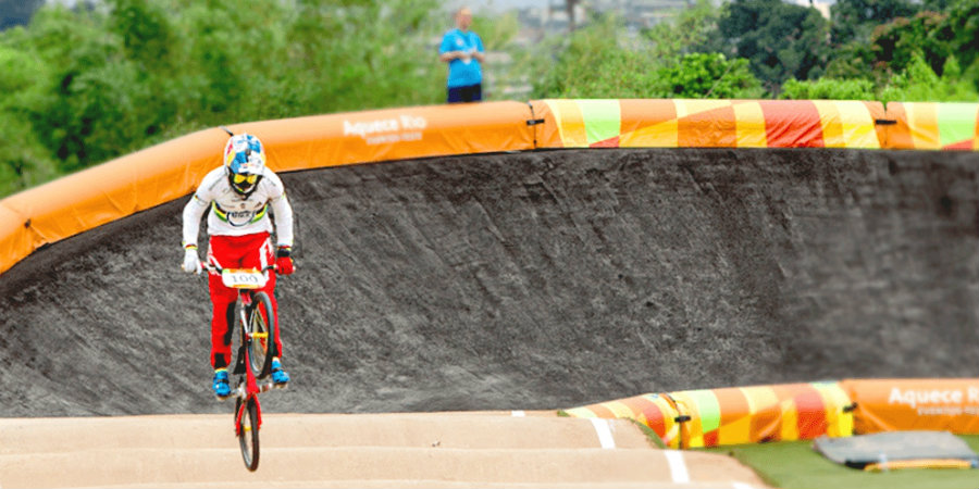 BMX racing is one of the upcoming sports in Rio 2016 given that it was added to the Olympic roster in 2008. Image Source: Rio 2016