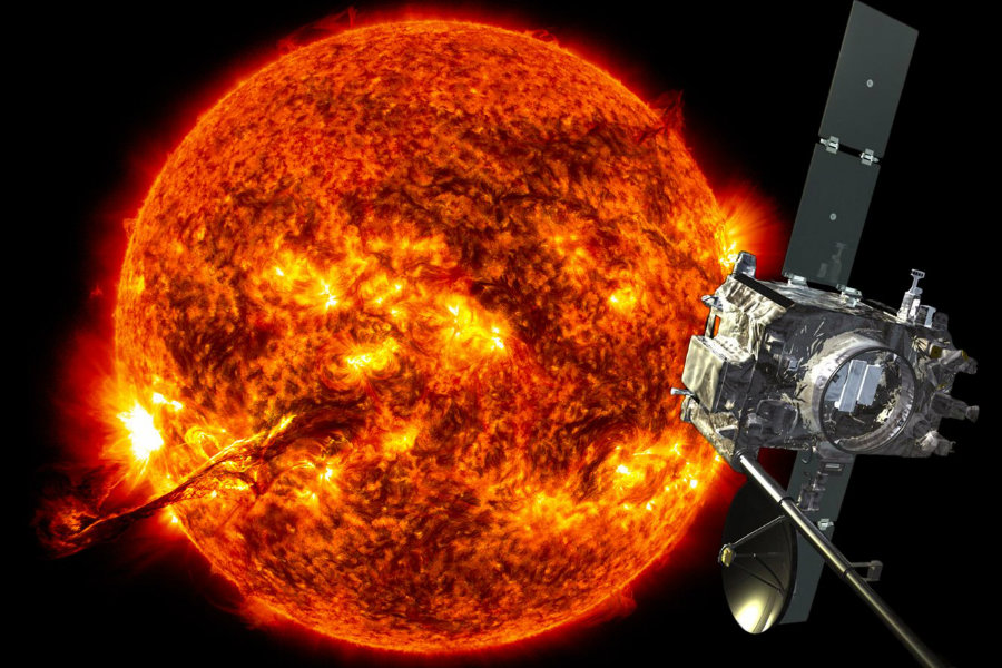 NASA gets a hold of the Stereo B spacecraft which went silent over 22 months ago. Image Credit: Business Insider