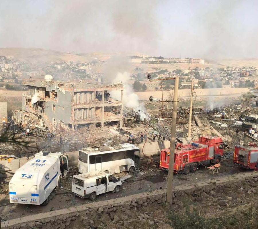 Cizre, Turkey, Syria