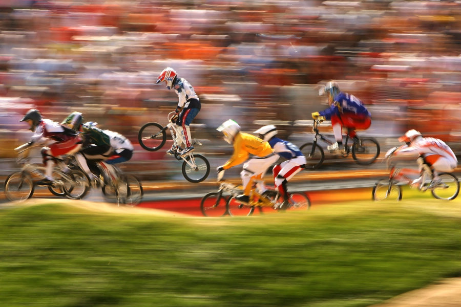 The BMX racing will run from Wednesday 17 August to Friday 19 August, Image Credit: Rio 2016