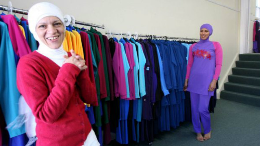 However, the court's decision affects towns and cities across the country where the Muslim swimsuit had been banned. Image Source: SMH