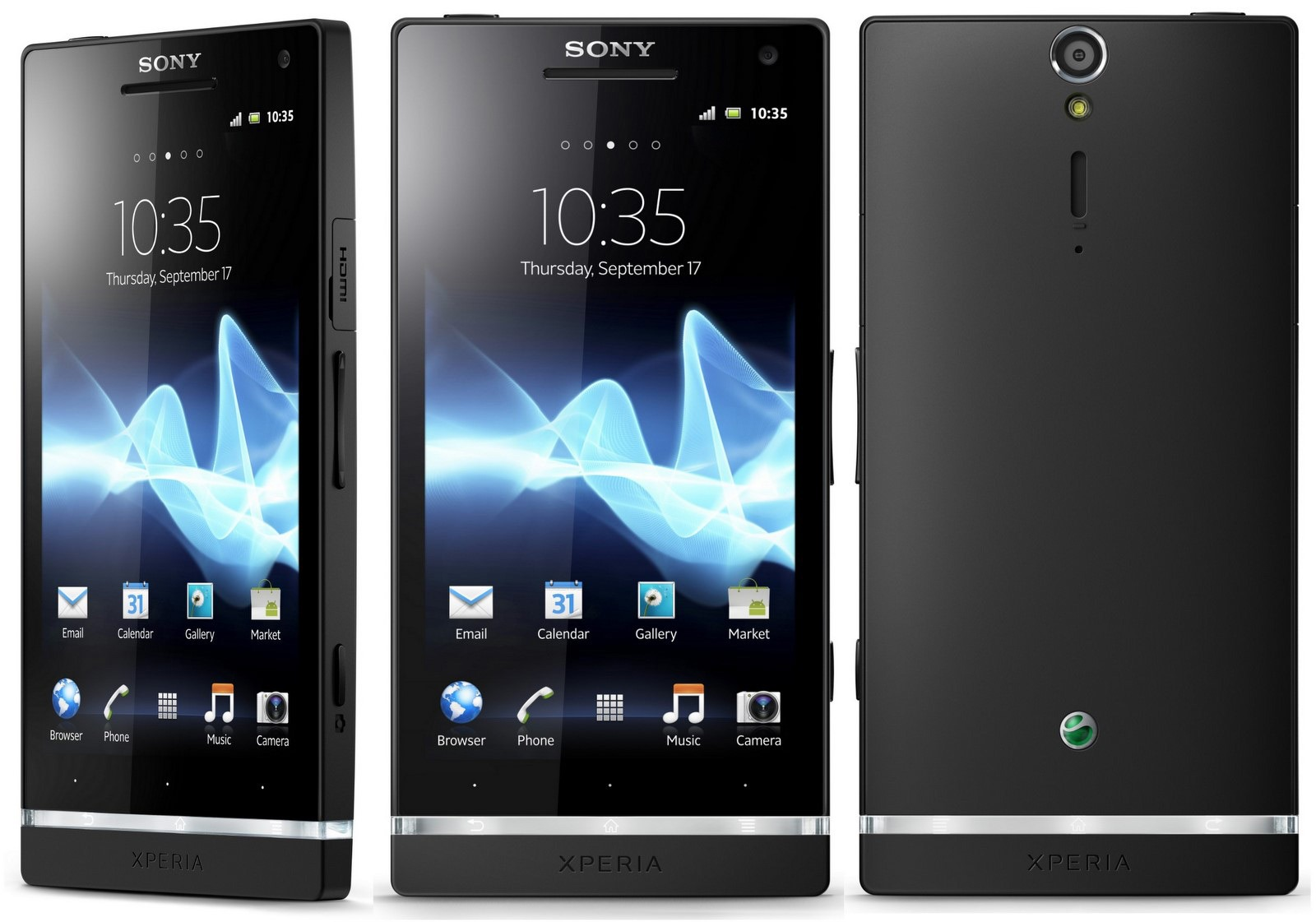 Watch the Sony Xperia Z5 Premium's 4K screen shrug off a splashing video. Image Credit: Android Advices