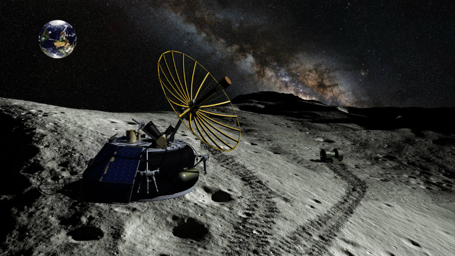 MoonEx has become the first private company to struck a deal with the Federal Aviation Administration (FAA) to land in the surface of the Moon in 2017. Image Credit: The Verge