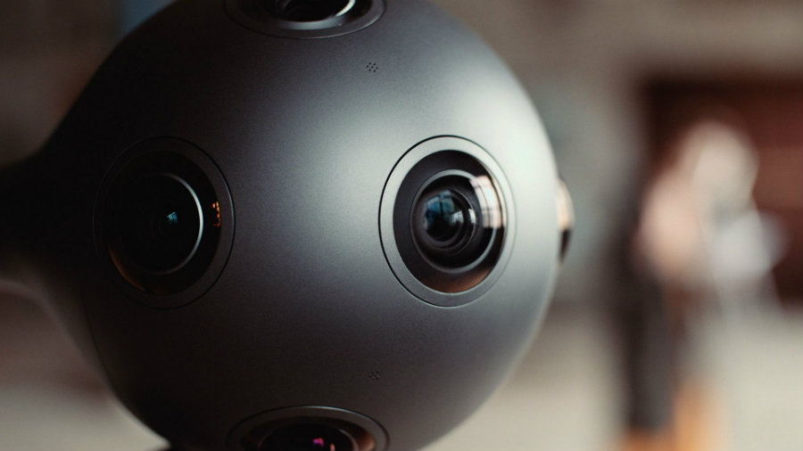 Nokia's leader, Ramzi Haidamus, talked about the potential of Ozo, the professional VR 360 camera. Image Credit: GSM Arena