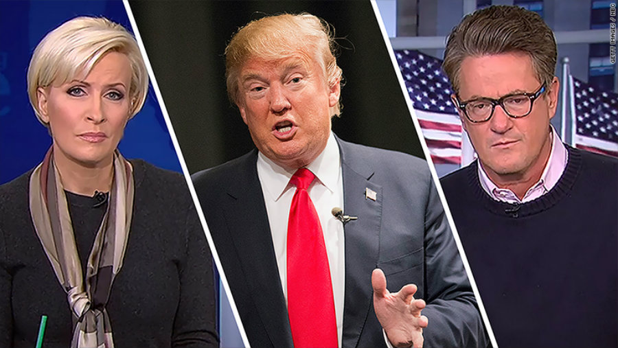 """Donald Trump attacked MSNBC's """"Morning Joe"""" hosts Joe Scarborough and Mika Brzezinski, being this the second time he attacks a national TV female host, Photo credit: CNN Money"""