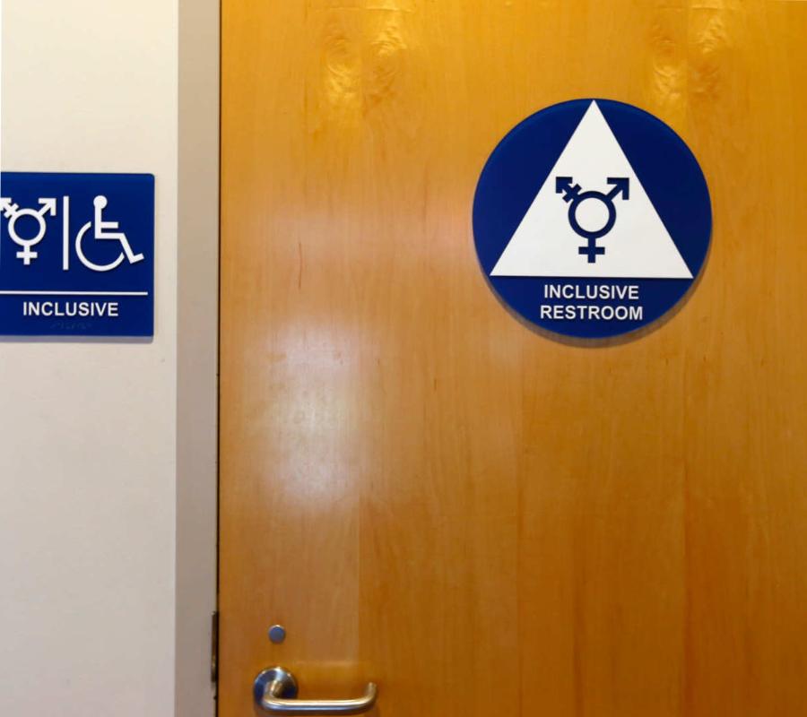 Inclusive restroom