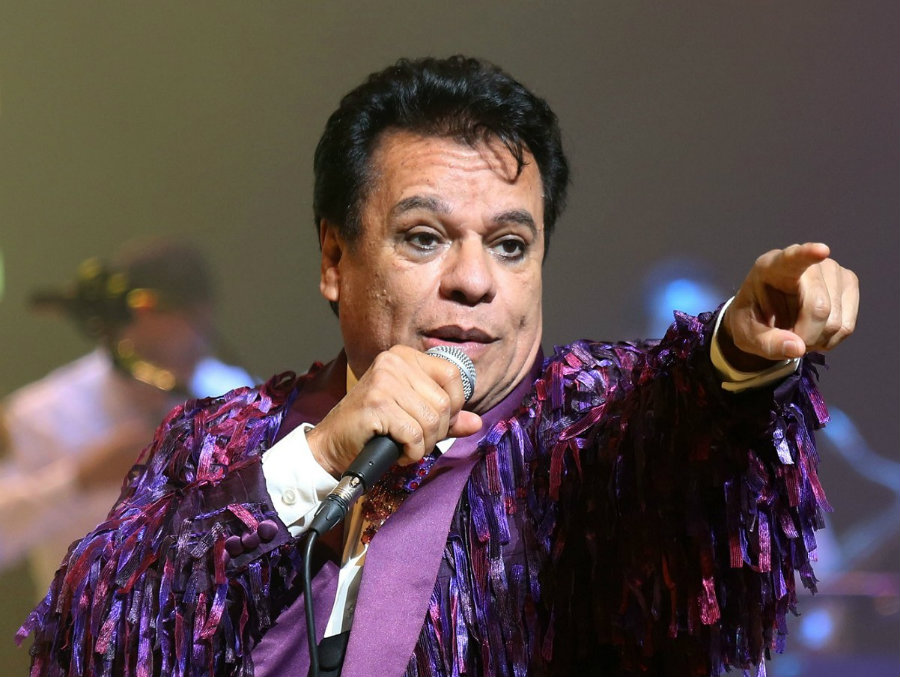 Juan Gabriel died at the age of 66, just two days after a concert in California. Photo credit: Las 2 Orillas