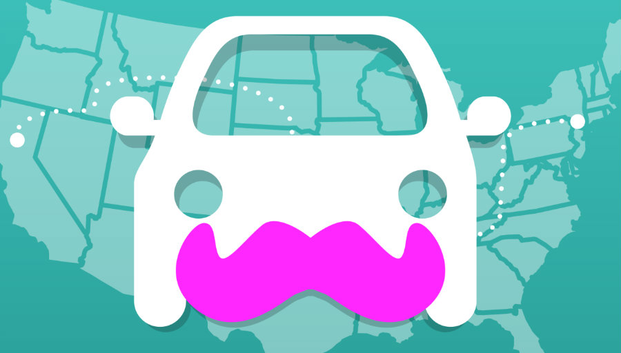 Lyft was launched in 2012 as a mobile app that connected passengers and drivers when a ride is needed. Photo credit: Tech Crunch