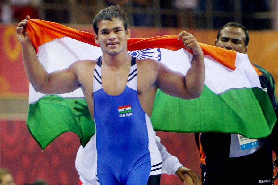 India's Narsingh Yadav is awaiting the hearing of the appeal against the clearance he was given after testing positive for a banned drug. Photo credit: DNA India