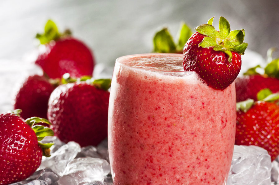 Some cases of Hepatitis A might be linked with frozen strawberries used in smoothies in Tropical Smoothie Cafe stores. Photo credit: My Protein