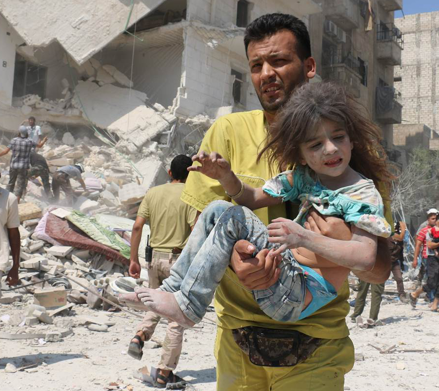 Syria, Aleppo, Funeral