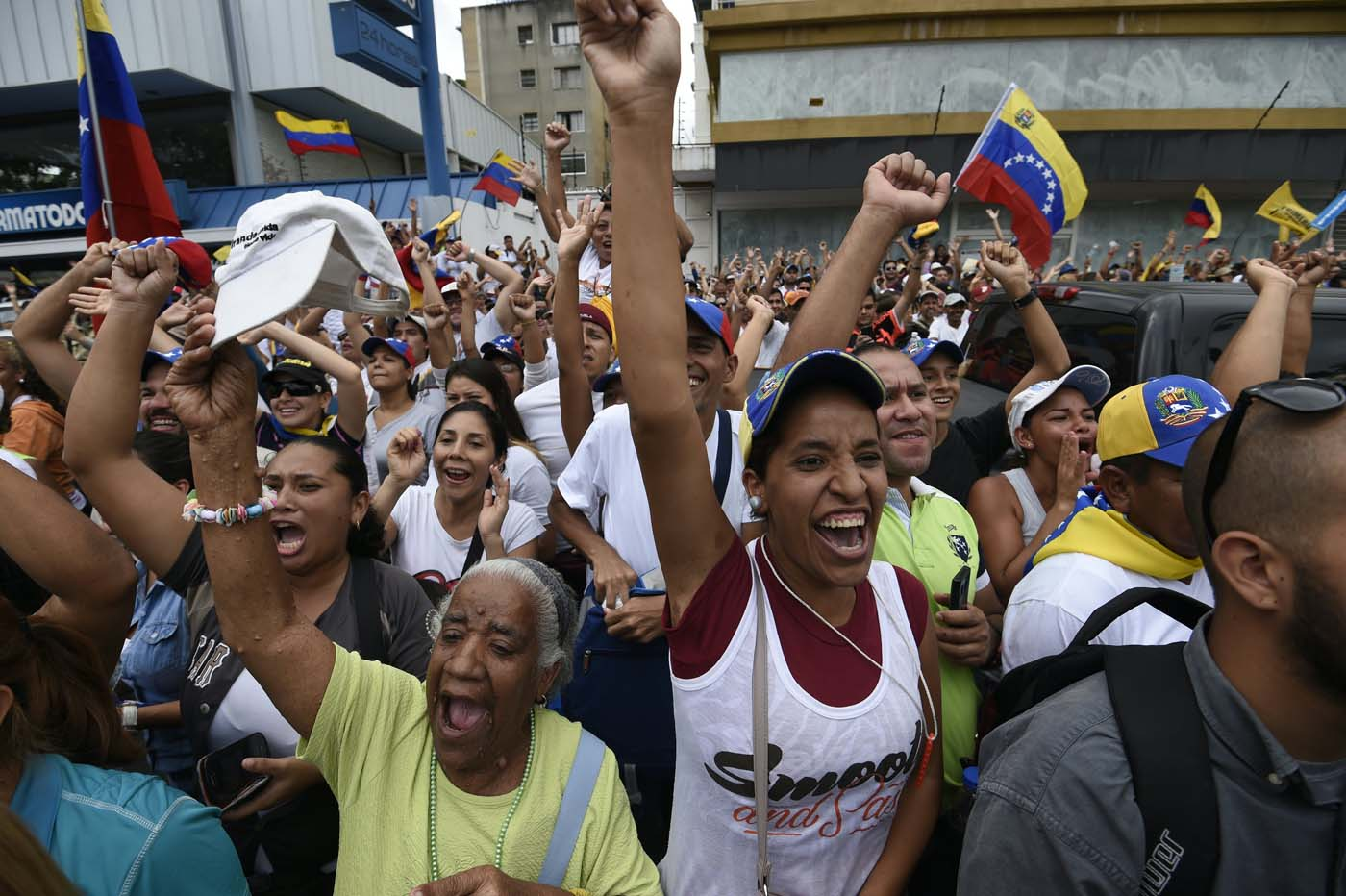 "Venezuela protests: ""The Caracas takeover"""