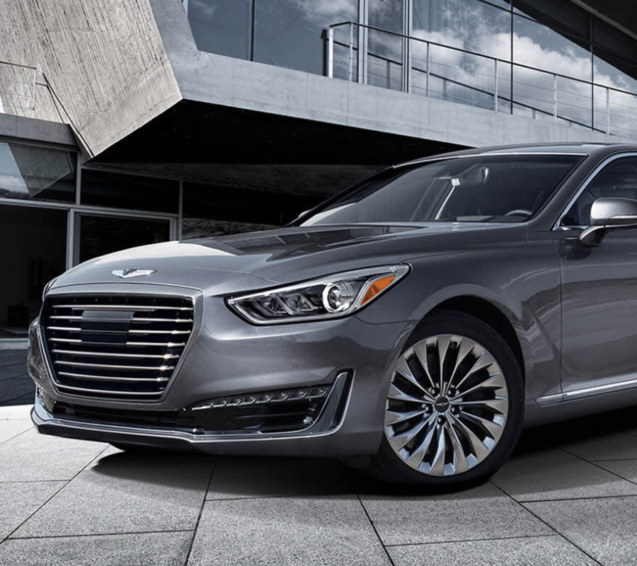 hyundai 39 s new genesis g90 sedan price specs design. Black Bedroom Furniture Sets. Home Design Ideas