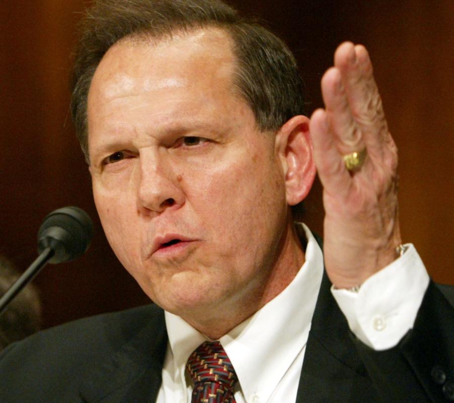 Alabama Chief Justice Roy Moore
