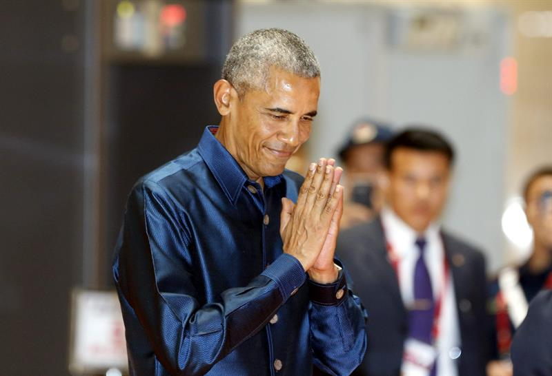Obama in Laos, G20 summit