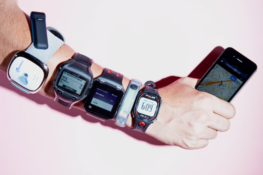 Overweight people who exercise for over two years without using fitness trackers lost more weight than those who did. Photo credit: Ariel Zambelich / Wired