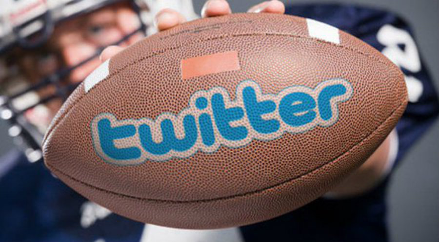 For the first time, an NFL game will be broadcasted on Twitter on Thursday 15th. Photo credit: @Contentdope, Twitter