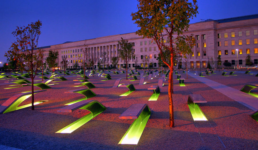 Image result for 911 pentagon memorial