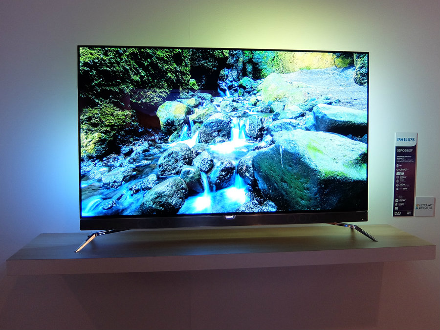 the 901F TV. It is the first OLED television of the company, and initial reviews find it promising. Photo credit:  Stuff