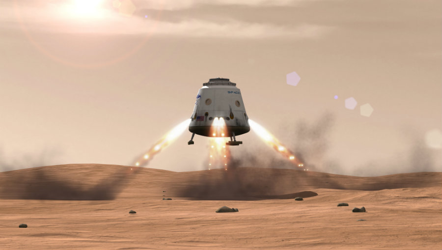 Musk revealed SpaceX projections Tuesday at the 67th International Astronautical Congress that took place in Mexico. Photo credit: Pics-about-space.com