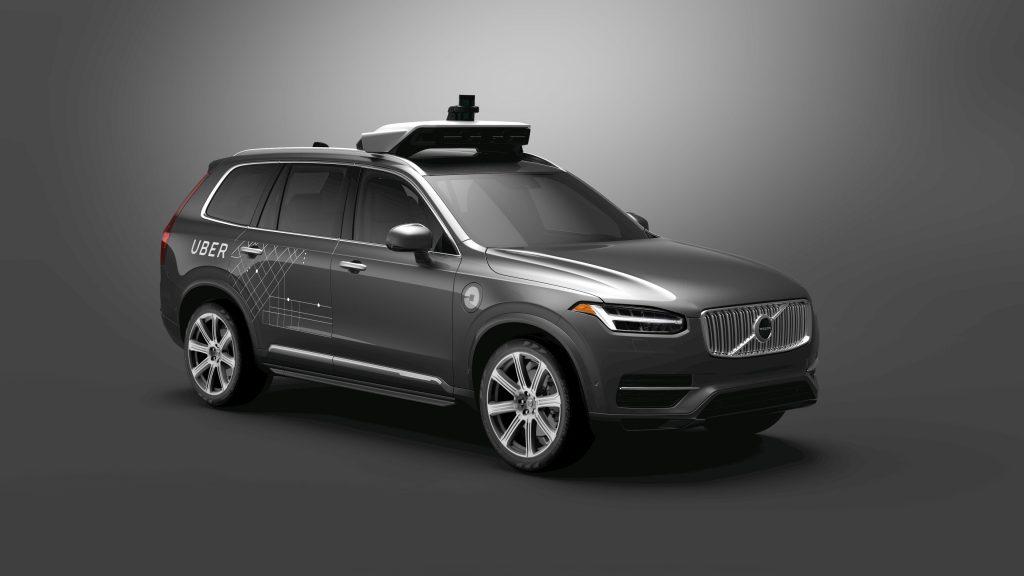 Volvo, Uber