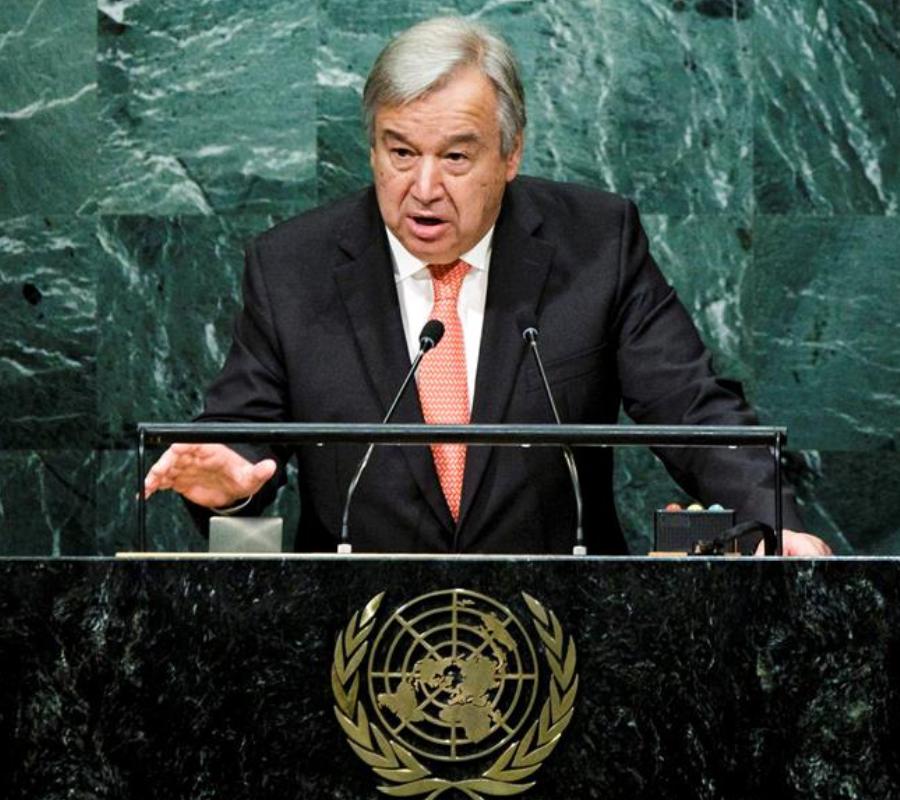 U.N.'s Antonio Guterres