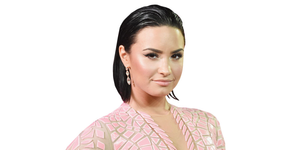On Tuesday, pop singer Demi Lovato appeared in an interview with Glamour magazine. Photo credit: Getty / Elle