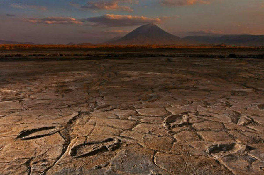 The Engare Sero prints, how they are called, were found in Northern Tanzania. Photo credit: Robert Clark, National Geographic Creative / Christian Science Monitor