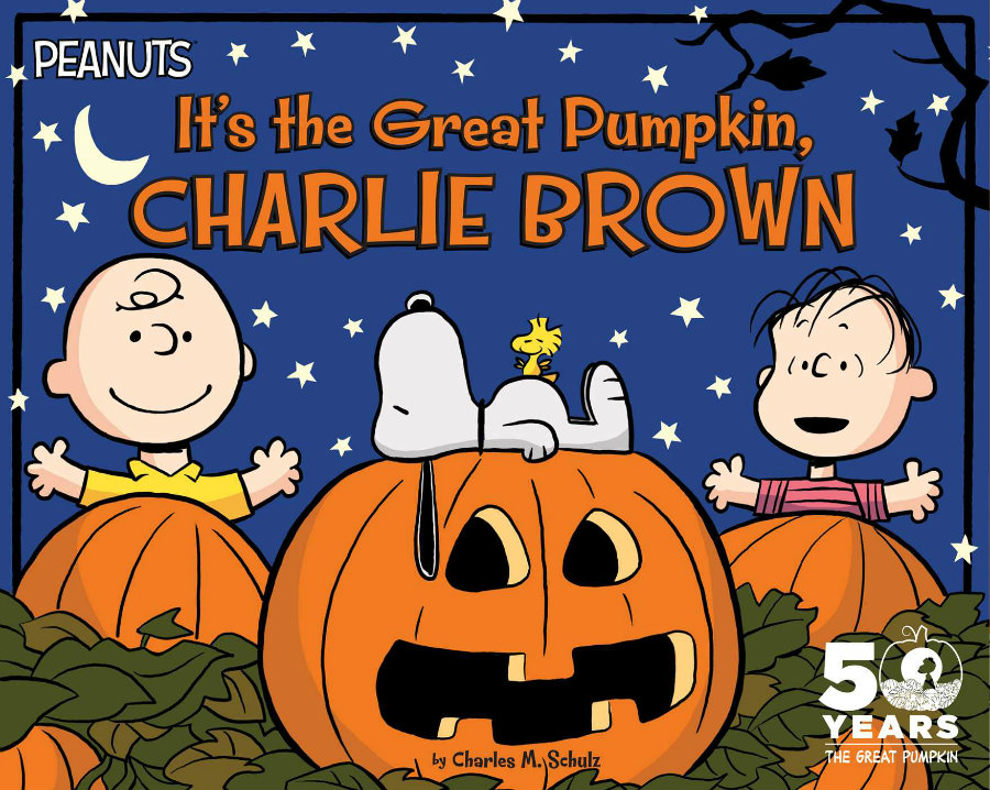 """""""It's the Great Pumpkin, Charlie Brown"""" will celebrate its 50th anniversary this year. Photo credit: Simon & Schuster"""